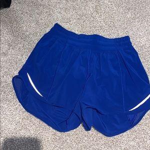 Lululemon hotty hot shorts fabulous condition